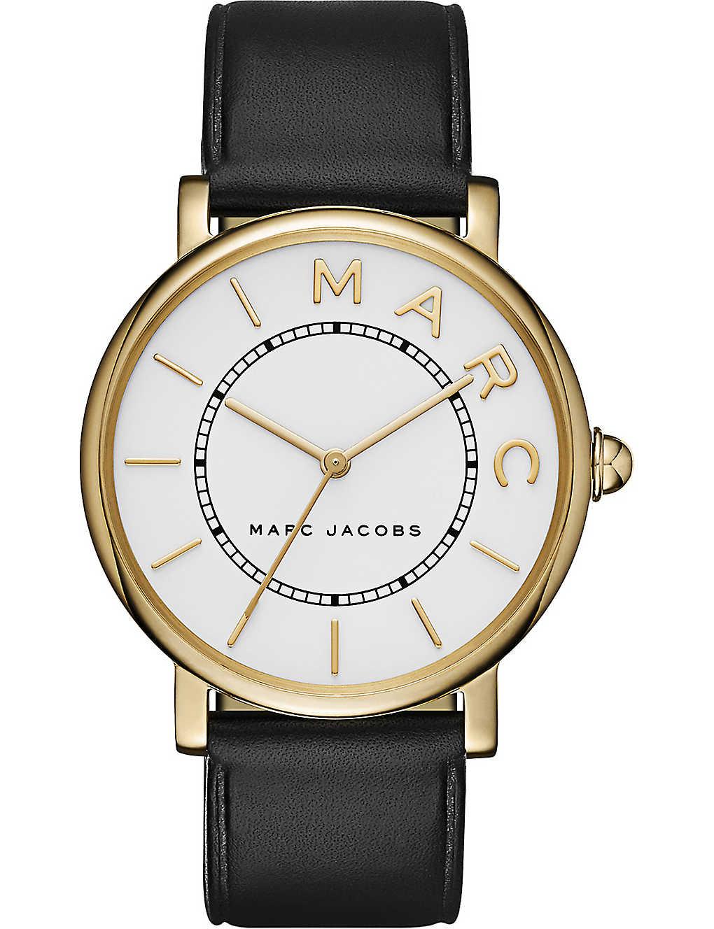 79e0f06208a2d MARC JACOBS - Roxy gold watch | Selfridges.com