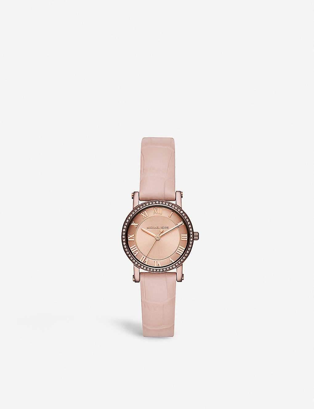 2639ac349f MICHAEL KORS - MK2723 Norie rose gold-toned stainless steel and ...