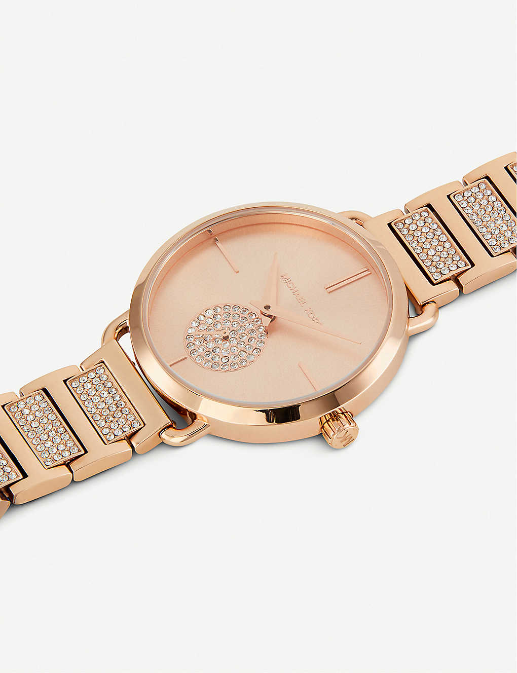 ded2a4970101 MICHAEL KORS - MK2776 Portia rose-gold toned stainless steel watch ...