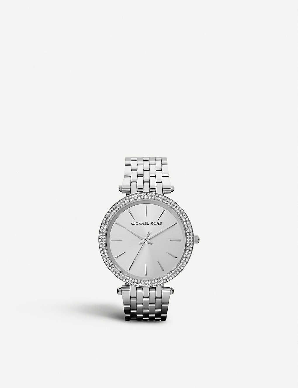 372fcb295bc7 MICHAEL KORS - MK3190 Darci stainless steel bracelet watch ...