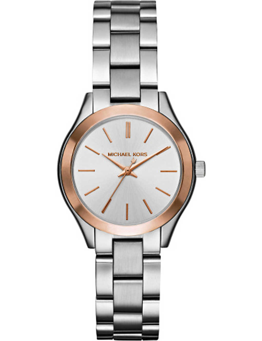 6da197c4b MICHAEL KORS - 3514 Mini Slim Runway stainless steel watch ...