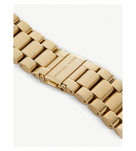MICHAEL KORS Watches MK5605 BRADSHAW GOLD-PLATED WATCH