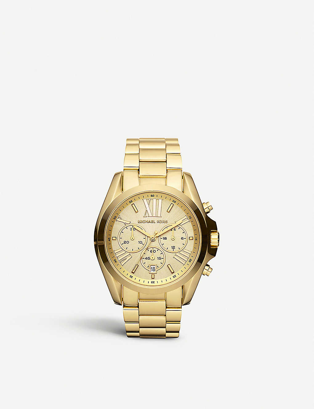 bdc0b86ef159 MICHAEL KORS - MK5605 Bradshaw gold-plated watch