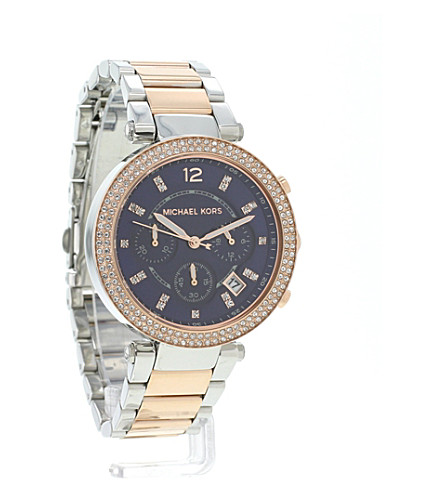c3daac6c768e MICHAEL KORS - MK6141 Parker rose gold-tone watch
