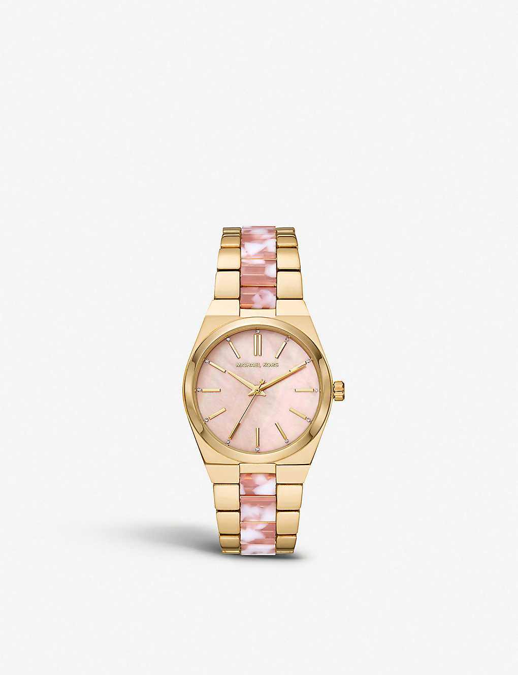 Michael Kors Mk6650 Channing Yellow Gold Plated Stainless Steel