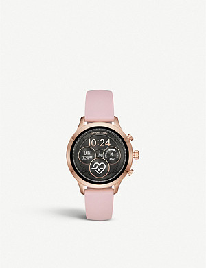 MICHAEL KORS MKT5048 Runway stainless steel and rubber smartwatch