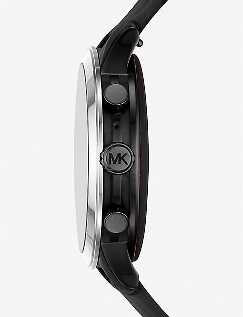MICHAEL KORS MKT5049 Runway stainless steel and rubber smartwatch