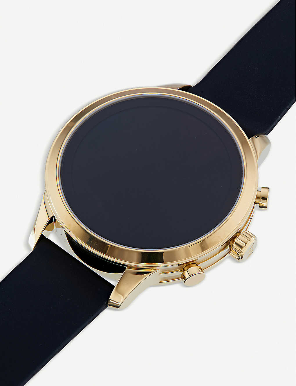 5c8c2f8f6ce9 MICHAEL KORS - MKT5053 Jetset gold-toned stainless steel smartwatch ...