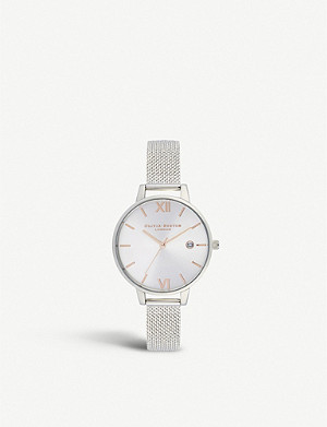 OLIVIA BURTON OB16DE01 Sunray Demi stainless steel and rose gold-plated watch