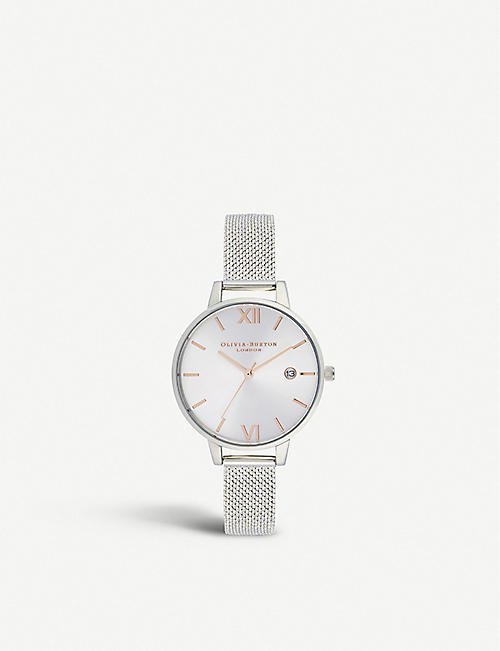 1e7a7dfe4bd5 OLIVIA BURTON OB16DE01 Sunray Demi stainless steel and rose gold-plated  watch