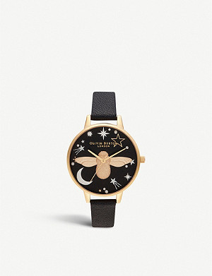 OLIVIA BURTON OB16GD21 Ramadan 3D Bee motif gold-plated watch