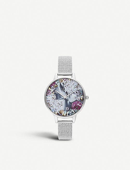 OLIVIA BURTON: OB16US11 Under the Sea stainless steel watch