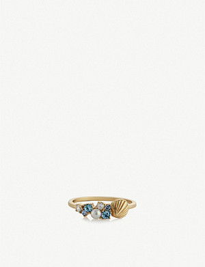 OLIVIA BURTON Under the Sea gold-plated ring