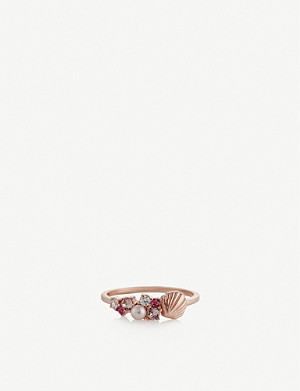 OLIVIA BURTON Under the Sea rose gold-plated ring