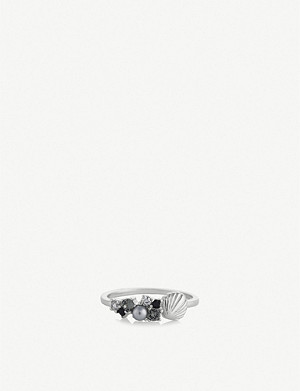 OLIVIA BURTON Under the Sea sterling silver ring