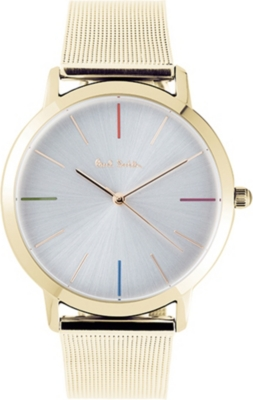 PAUL SMITH P10101 Ma gold watch