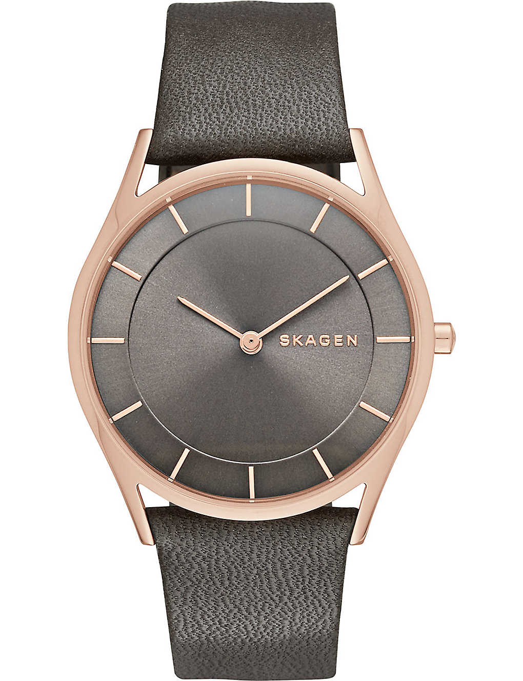 SKAGEN: Skw2346 Holst rose gold-toned stainless steel watch