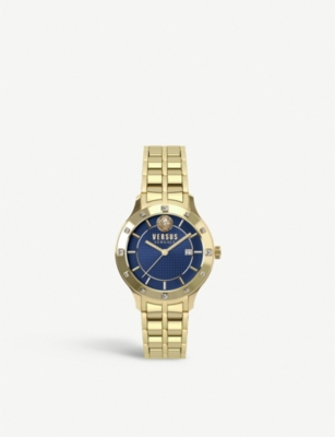 VERSUS SP4603-0018 Brackenfell gold-toned stainless steel watch