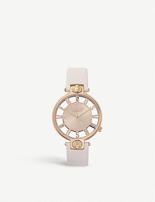 VERSUS SP4903-0018 Kirstenhoff gold-plated stainless steel watch