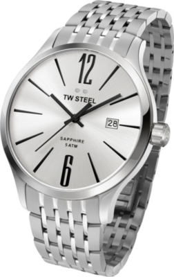 TW STEEL TW1307 Slim Line stainless steel watch