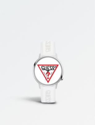 GUESS V1003M2 Originals stainless steel and silicone watch