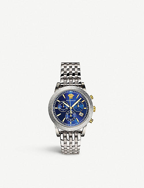 VERSACE: Sport Tech steel watch