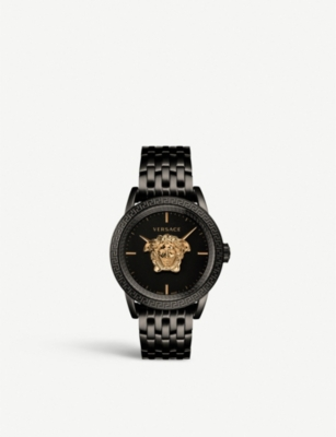 VERSACE 00518 Palazzo Empire gold-plated stainless steel watch