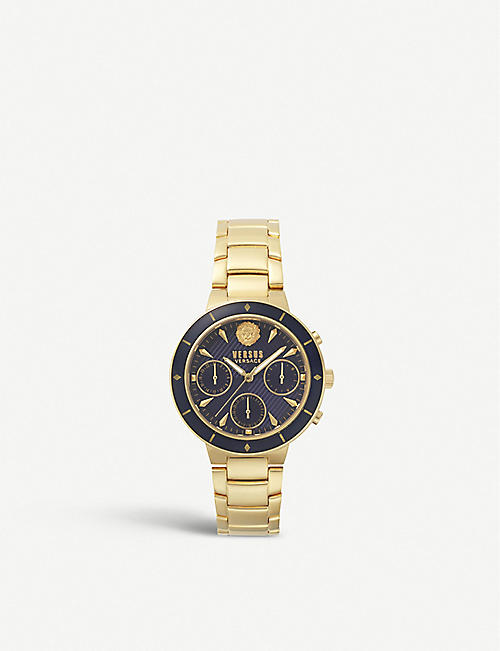 VERSUS VSP880718 Harbour Heights PVD gold-plated watch