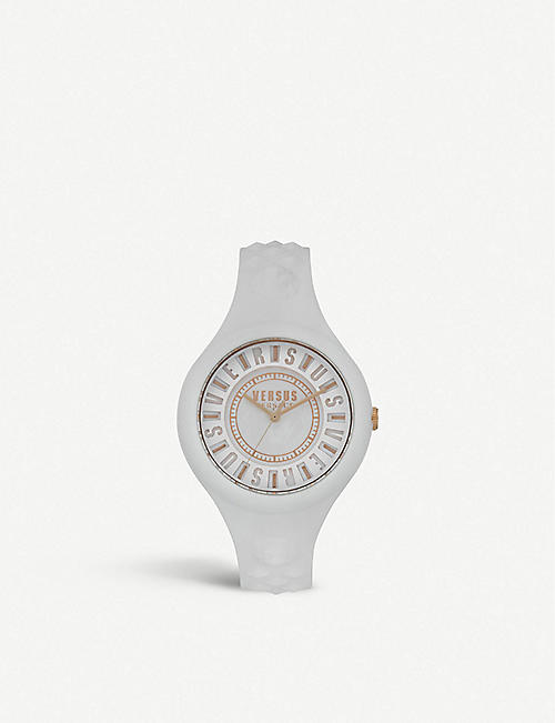 VERSUS VSPOQ4219 Fire Island rubber watch