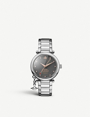 VIVIENNE WESTWOOD VV006GNSL Mother Orb stainless steel watch