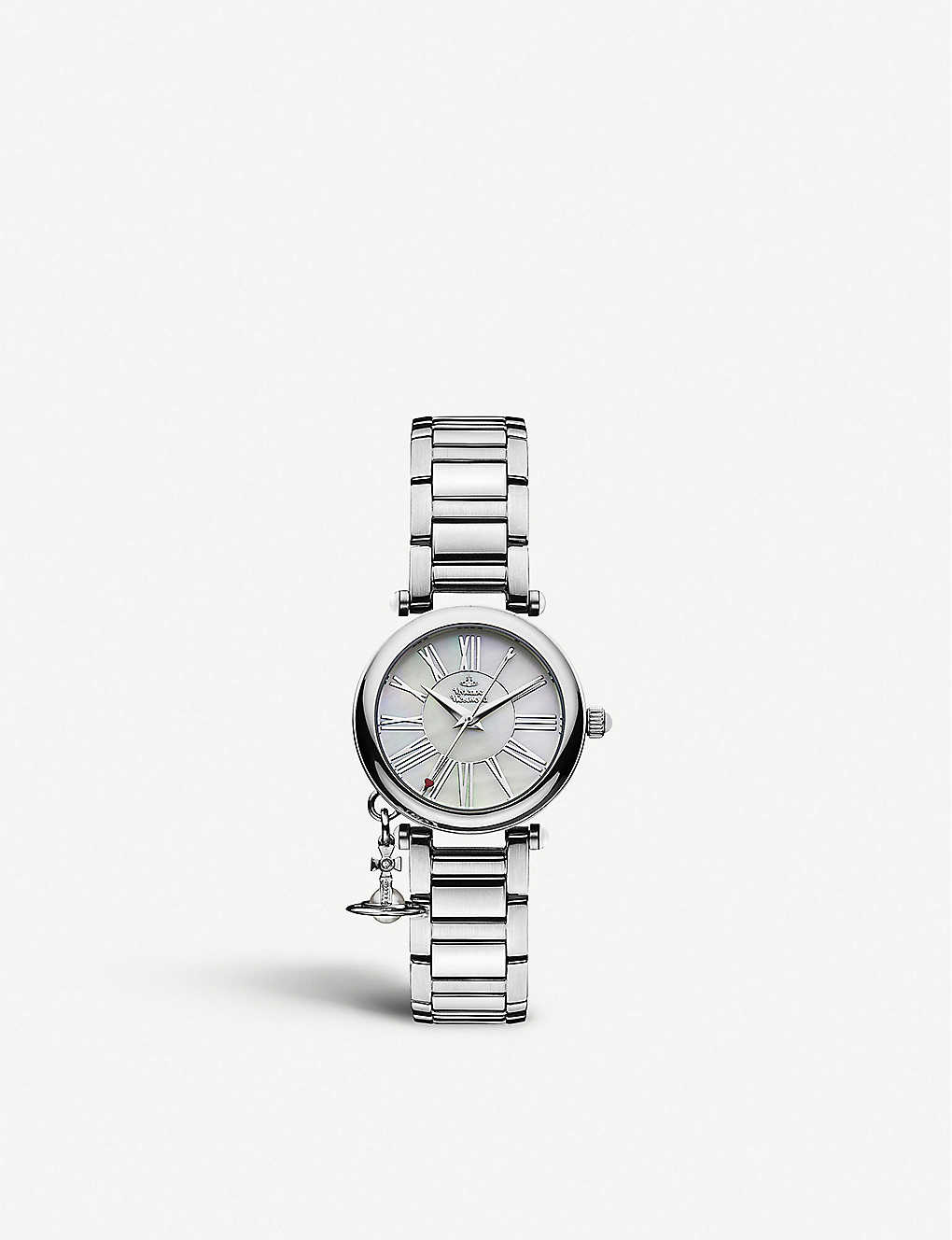 72cbbdaff41 VIVIENNE WESTWOOD - VV006PSLSL Mother Orb stainless steel watch ...