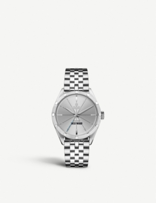 VIVIENNE WESTWOOD VV192SLSL stainless steel watch