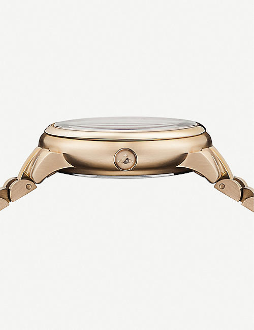 VIVIENNE WESTWOOD VV196RSRS rose gold-toned watch