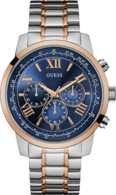 GUESS W0379G7 Horizon two-tone watch