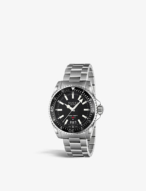 GUCCI YA136301 Dive stainless steel watch