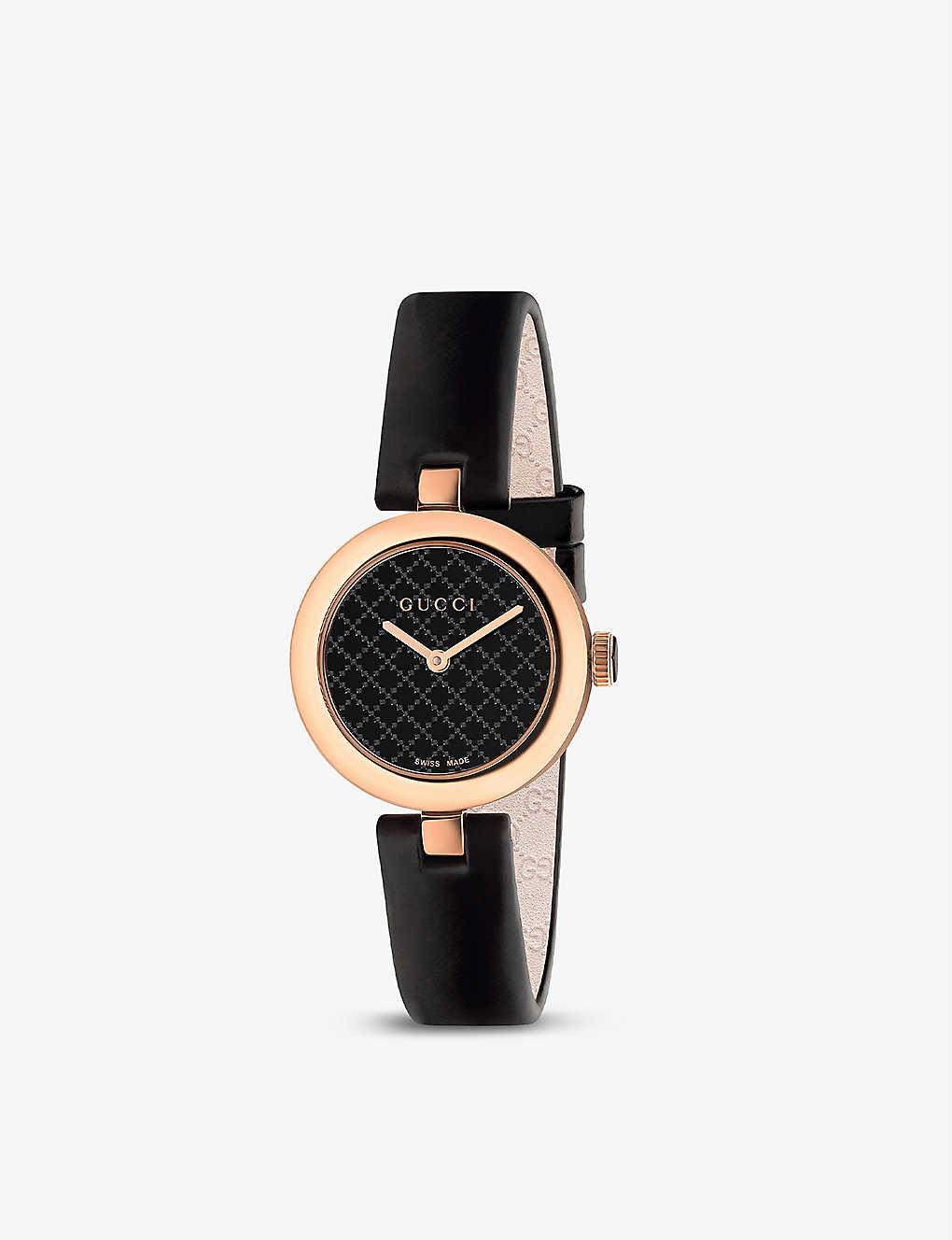 6e6160dc49a GUCCI - YA141501 Diamantissima stainless steel watch