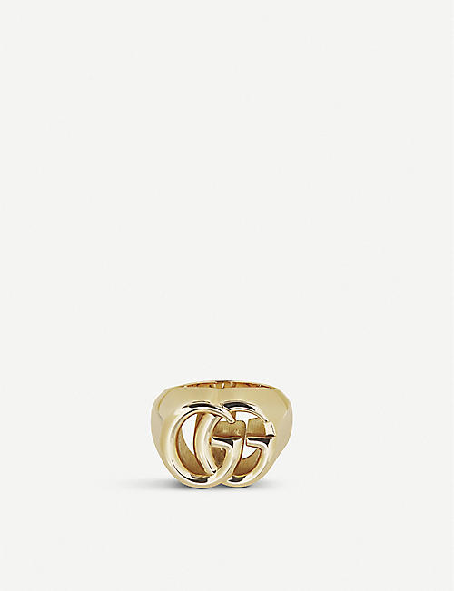 cdfcabcd937a9 GUCCI - GG Running 18ct yellow-gold ring