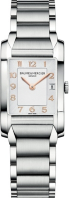 BAUME & MERCIER M0A10049 Hampton stainless steel watch