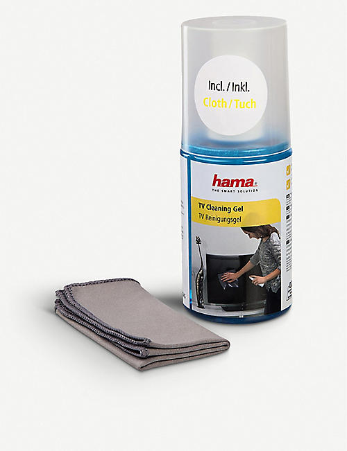 HAMA: TV Cleaning Gel and Cloth 200ml