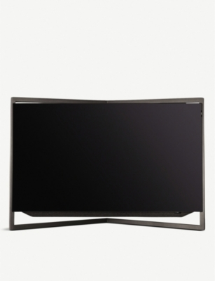 LOEWE TECHNOLOGY 55in Bild.9 4K OLED TV with table stand in Graphite Grey