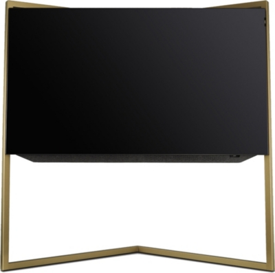 LOEWE TECHNOLOGY 55in Bild.9 4K OLED TV with floor stand in Amber