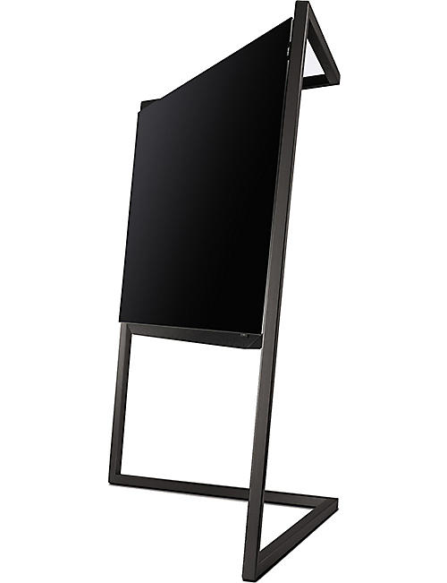 LOEWE TECHNOLOGY 65in Bild.9 4K OLED TV with floor stand in Graphite Grey
