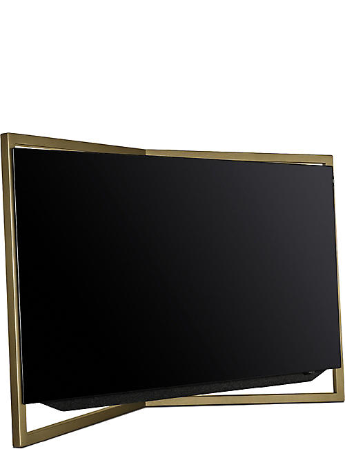 LOEWE TECHNOLOGY 65in Bild.9 4K OLED TV with table stand in Amber