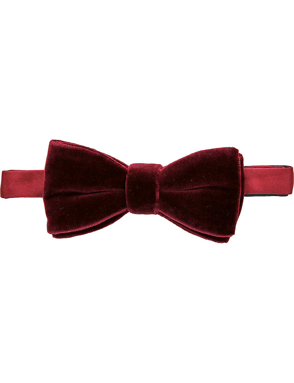 dfd0a13602f6 THOMAS PINK - Ready-to-wear velvet bow tie | Selfridges.com