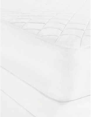 THE WHITE COMPANY Luxury anti-allergy mattress protector double