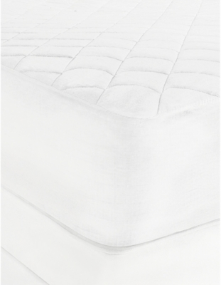 THE WHITE COMPANY Luxury anti-allergy mattress protector single