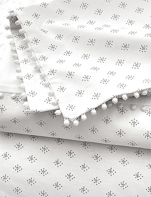 THE WHITE COMPANY Avignon printed cotton double duvet cover