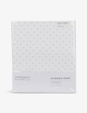 THE WHITE COMPANY Avignon cotton duvet cover