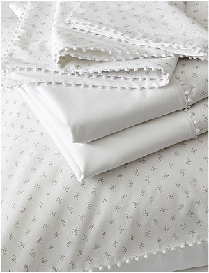 THE WHITE COMPANY Avignon printed cotton super king duvet cover