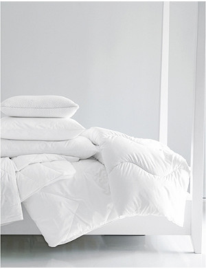 THE WHITE COMPANY Breathable cotton single duvet 140cm x 200cm